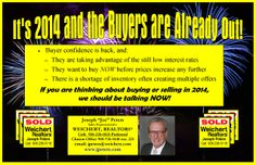 Hunterdon, Somerset and Warren County Real Estate 2014 Promises to be a Banner Year in Local Real Estate !