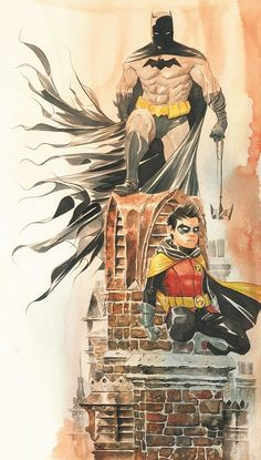 Batman & Robin by Dustin Nguyen