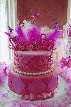 Girls Birthday Cake Designs | 2nd Birthday Cakes for Girls, Design Ideas | ImagesForFree.org