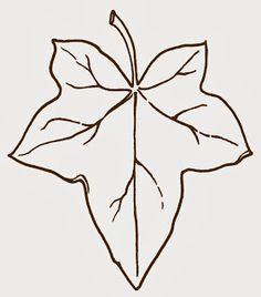 Free clip art ~ ivy leaf