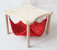 hammock under table