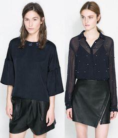 blusas de fiesta low cost del invierno 2013 zara