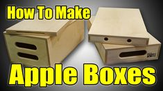 Apple boxes get tons
