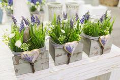 Bilder Frühjahr Januar 2017 | Willeke Floristik Easter Garden, Fall Wreaths, Flower Arrangements, Pots, Diy And Crafts, Floral Design, Projects To Try, Shabby, Spring