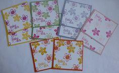 Mini-Dankeskarten mit Petite Petals