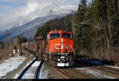 RailPictures.Net Photo: CN 2621 Canadian National Railway GE C44-9W (Dash 9-44CW) at Grant Brook, British Columbia, Canada by Tim Stevens