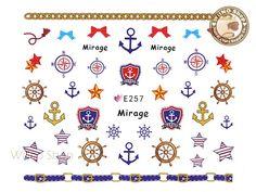 makeup beauty tips fashion style nail art braid styles Sailor Anchor Nail Sticker Nail Art - 1 pc Navy Anchor, Anchor Art, Anchor Nails, Base Coat, Top Coat, Nail Art Stickers, Simple Nail Designs, Simple Nails, Mixed Drinks
