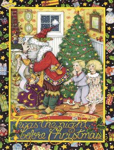 'Twas the night before Christmas by Mary Engelbreit