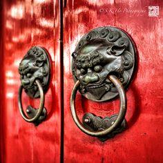Chinese Temple Door Knobs