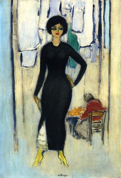 Kees van Dongen – Portrait d' Ines Napoli
