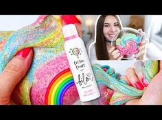 DIY RAINBOW UNICORN SCHLEIM - MIT BILOU | Valeria Greb - YouTube