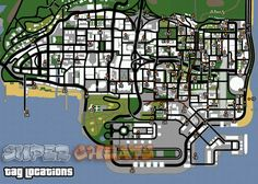 GTA San Andreas hidden package location maps - Gallery