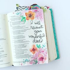In case you missed it, I was on the @illustratedfaith blog yesterday. Life is full of things that cast a shadow over gratitude, but I am recounting and remembering my way back to a thank-filled heart. How are you starting out the week? #illustratedfaith #watercolors #journalingbible #psalms