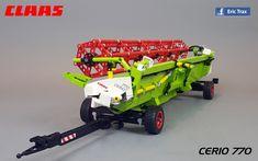 Lego Tractor, Lego Truck, Lego Vehicles, Lego Moc, Lego Technic, Nerf, Scale, Trucks, Toys