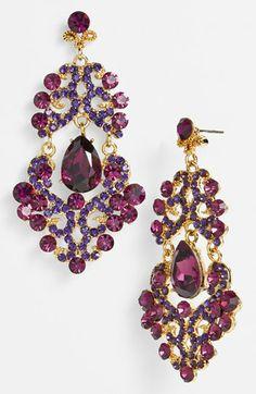 Tasha Ornate Chandelier Earrings   Nordstrom