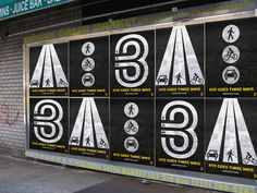 3-Way Street by Ron Gabriel, via Behance