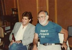 Glenn Frey and Jerry Wexler @ Muscle Shoals Studios.