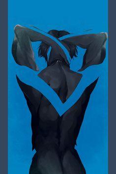 Dick Grayson by Teal Geezus Arte Dc Comics, Bd Comics, Marvel Comics, Harley Quinn, Dickie Bird, Superman, Batman Art, Nightwing And Batgirl, Richard Grayson