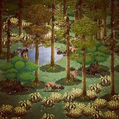 The Tribe Pixel Artist:Mazok Pixels Source:behance.net