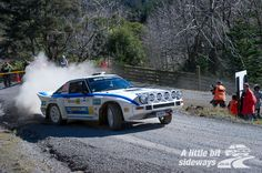 """Marcus van Klink (""""Klinky"""")'s Mazda RX-7 during his New Zealand Rally Championship campaign, proudly supported by Buteline."""