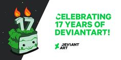 Seventeen years ago, DeviantArt launched what would soon become the world's largest online art community. August 7th marks the day we sprang onto the Internet, and we want to celebrate this momentous occasion by thanking deviants all around the globe for your inspiration, entertainment, and more than a little deviousness!<br /><br />Get the Badge!<br /><br />Twitter<br /><br />Facebook<br /><br />Google+<br /><br />Seventeen years ago, DeviantArt launched what would soon become the world's…