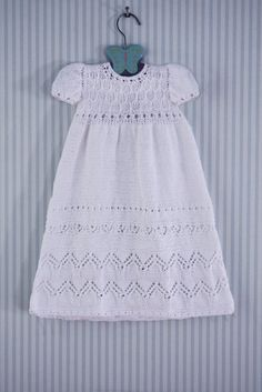 Ravelry: Tapestry Christening Gown Set pattern by Judy Lamb