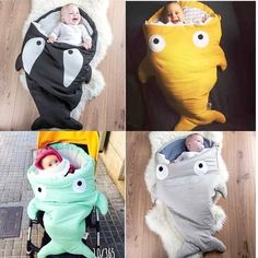 Nap Mat Ideas You Will Totally Adore Envelope Newborns Baby Shark Sleeping Bag For Winter Strollers Bed Swaddle Blanket Wrap Cute Cartoon Bedding Sleep sacks 7 Color-in Sleepsacks from Mother & Kids on The Babys, Baby Nap Mats, Baby Boy, Baby Crib, Diy Bebe, Baby Shark, Baby Time, Baby Crafts, Baby Sewing