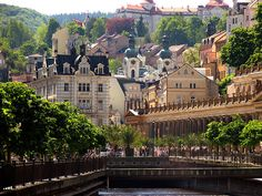 Karlovy Vary, Czech Republic...one of my BEST shopping experiences done here! Jlou
