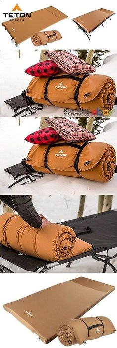 Camping Sleeping Pad - Cots 87099: Universal Camping Cot Pad Sleeping Bag Mattress Futon Cushion Outfitter Hiking -> BUY IT NOW ONLY: $87.93 on eBay!