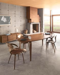 #DailyProductPick The Cherner Oval Table contains subtle details that complement their iconic seating.