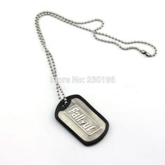 Ill Founded Apparel - Geeky Jewelry - Ships FREE! - Fallout 4 Dog Tag Necklace
