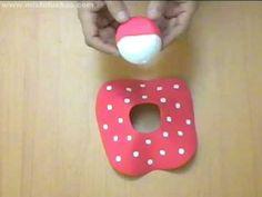 Cómo hacer faldas para fofuchas en foami Falda de Minnie Mouse en fomy o goma eva Paso a paso