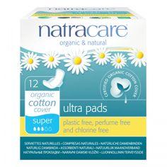 Natracare Pads Super - 12
