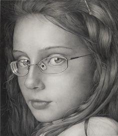 """Kay Ruane, 2012, graphite, 23 x 20"""""""