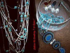 Collane lunghe con fili di perline e pietre  Vetrina #sabinanosmokingsibijou