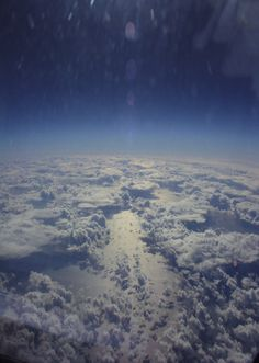 Captain Mike Bannister Takes A Photo From The Concorde Showing The Curvature Of The Earth