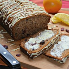 Cranberry-Orange Pumpkin-Spice Banana Bread - perfect bread for the ...
