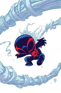 Chibi Miguel O'Hara ( Spiderman 2099)