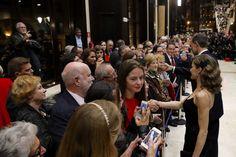 Los Reyes presiden el tradicional concierto Premios Princesa de Asturias