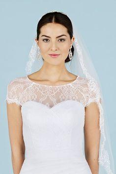 Spitze in Spitze wie eine Spanische Braut! Must-have für deine Traumhochzeit: die schönsten Brautschleier