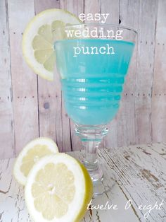 tiffany blue manzanita trees for weddings | The bride wanted Tiffany blue punch at the wedding, and I found about ...