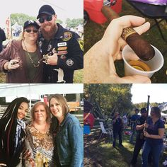 In honor of #GoodBeerFest this weekend a #FlashbackFriday collage from last year. Looking forward to hanging with my cigar fam this weekend. #EtchArtSmokeShop #DrewEstate #letsdoittogetherjd