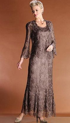 Soulmates 3 Piece Mother of the Bride Dress C1067 at frenchnovelty.com