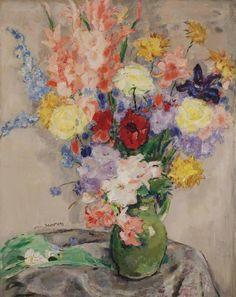 A summer bouquet, 1947, Jan Sluijters. Dutch (1881 - 1957)