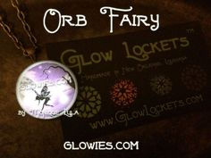 Glow Orb Fairy Glowing Faerie Necklace