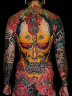 Hannya back piece
