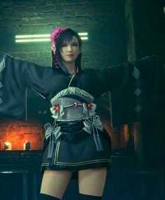 Tifa Final Fantasy, Final Fantasy Characters, Final Fantasy Vii Remake, Fantasy Series, Cloud And Tifa, Cloud Strife, Tetsuya Nomura, Tifa Lockhart, Star Wars Art
