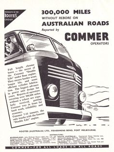 1954 Commer Truck Ad