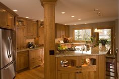 Split Entry Kitchen Remodel | Riddle Construction and Design Kitchen Gallery - Bothell Traditional