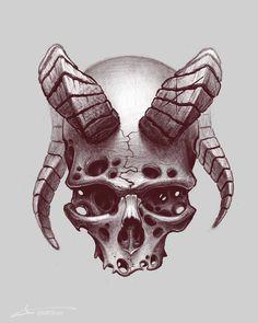 53 Ideas Drawing Skull Sketches For 2019 Skull Tattoo Design, Skull Tattoos, Body Art Tattoos, Creepy Tattoos, Tattoo Sketches, Art Sketches, Creepy Sketches, Tattoo Crane, Widder Tattoos